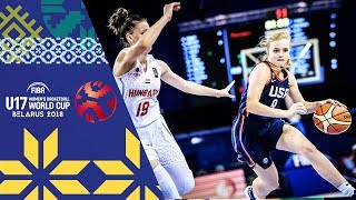 Download Hungary v USA - Full Game - Semi-Finals - FIBA U17 Women's Basketball World Cup 2018 Video