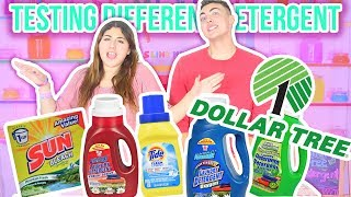Download TESTING DOLLAR TREE DETERGENTS FOR SLIME | Differentactivators | Slimeatory #62 Video