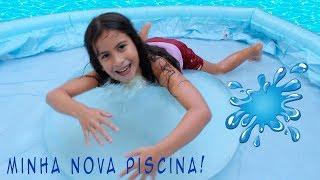 Download MARIA CLARA BRINCANDO NA NOVA PISCINA DE PLÁSTICO Video