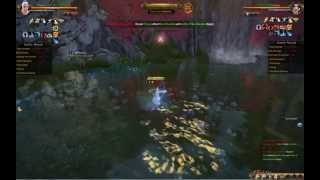 Download Age of Wushu - Mount Hua - Blue Dragon Server - December 2014 - 1st Fight Video
