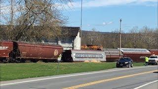 Download Train Derailment In Martins Creek, PA Video