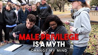 Download Male Privilege Is A Myth (2nd Edition) | Change My Mind Video