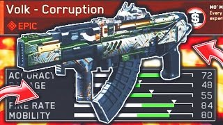 Download HIDDEN EPIC WEAPON on Infinite Warfare! ″VOLK - CORRUPTION″ EPIC WEAPON! (IW BEST SUPPLY DROP GUN) Video