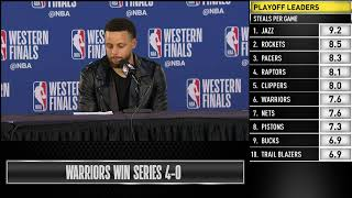 Download Stephen Curry Press Conference | Western Conference Finals Game 4 Video