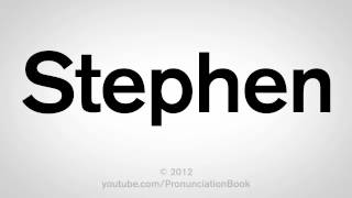 Download How to Pronounce Stephen Video