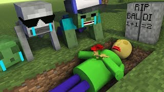 Download Monster School : RIP BALDI'S - Minecraft Animation Video