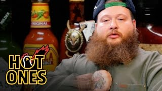Download Action Bronson Blows His High Eating Spicy Wings | Hot Ones Video