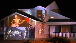Download 2014 Halloween House Projection Live Video