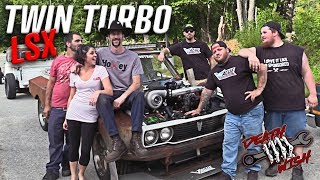 Download Death Wish Hilux Twin Turbo LS Swap - Deathwish EP2 Video