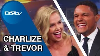 Download Charlize Theron on The Daily Show with Trevor Noah - July 2017 DStv Video