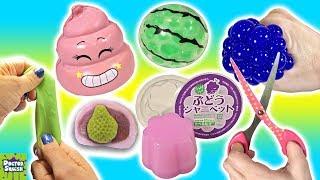 Download Cutting OPEN Squishy Toys! SLIME Mesh Ball Pink Emoji Crazy Crunchy Squishy!? Doctor Squish Video