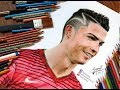 "Drawing of Cristiano Ronaldo .....  Featured on ""Fox Sports"""