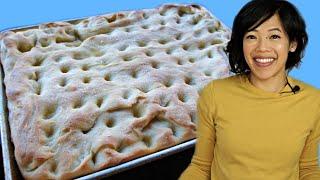 Download SOURDOUGH Focaccia Recipe - Italian olive oil flatbread   FERMENTED Video