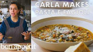 Download Carla Makes Pasta e Fagioli | From the Test Kitchen | Bon Appétit Video