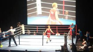 Download Boxing Fraser Gorn - Scotland v Sion Yaxley - Wales in Mens Elite GB Semi Final 2016. Video