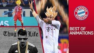 Download FC Bayern Goals Animated: Super Saiyan Tolisso & Rocket Man Coman Video