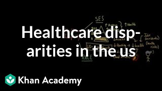 Download Health and healthcare disparities in the US | Social Inequality | MCAT | Khan Academy Video
