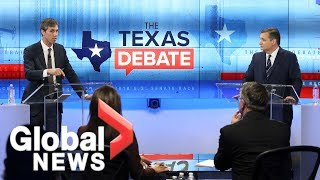 Download Ted Cruz and Beto O'Rourke square off in final debate before midterm election Video