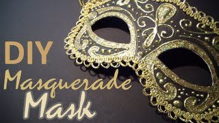 Download DIY: Masquerade Mask (from scratch) Video