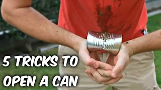 Download 5 Cool Tricks to Open a Can - Compilation Video