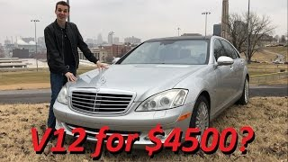 Download I Bought a Broken Mercedes S600 V12 for $4500.... 1 Year Update! Video