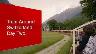 Download Day Two - #TrainAroundSwitzerland. Video