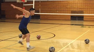 Download Improve Spiking TIMING (part 1/2) - How to SPIKE a Volleyball Tutorial Video