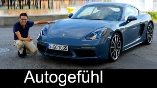 Download The best Porsche? 718 Cayman FULL REVIEW Racetrack test driven new neu 2017 Video