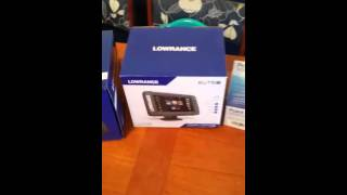 Download Lowrance elite-7Ti unboxing Video