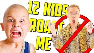 Download 12 Kids ROAST Me (Diss Track) Video