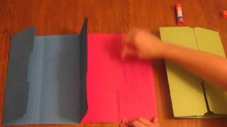 Download How to make a Tri-Folder Lapbook.mpg Video