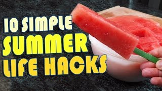 Download 10 Summer Life Hacks To Try Right Now Video