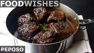 Download Peposo - Tuscan Black Pepper Beef - Food Wishes Video
