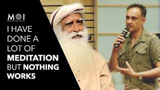 Download Sadhguru's Brilliant Answer on Why Meditation Doesn't Work For Many People | Mystics of India | 2018 Video