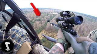 Download Airsoft Players use a HELICOPTER for their group IN GAME! Video
