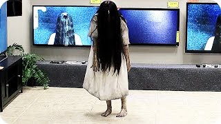 Download RINGS TV Store Prank (2017) Horror Movie Video