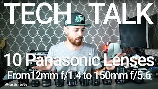 Download 10 Panasonic Lenses Roundup and Review Video
