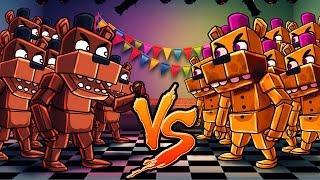 Download Minecraft | 1001 FredBears vs 1001 Freddy Fazbears! (FNAF Massive Mob Battles) Video