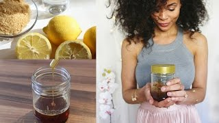 Download DIY Sugaring • Natürliche Haarentfernung Video