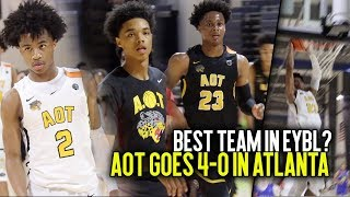 Download AOT Goes UNDEFEATED at EYBL Session 3 In Atlanta!! Best Team In EYBL?? Video