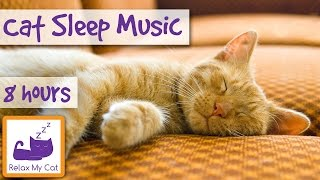 Download Over 8 Hours of Relaxing Music For Cats! Long Playlist For Cats. Natural Anxiety and Stress Relief Video