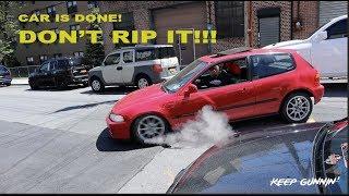 Download EG K-SWAP BUILD COMPLETE: DRIVE IT HOME!!! Video