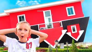 Download Vlad and Nikita new Playhouse for children Video