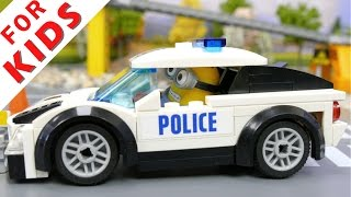 Download LEGO Police сhase - policemen catch the robber [Episode 1] Video