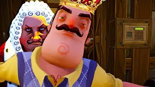 Download HELLO NEIGHBOR GOES MEDIEVAL AS WE TAKE THE SECRET JEMS 😂- Goodbye My King (Gameplay Funny Moments) Video