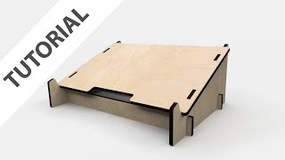 Download Designing a Lasercut Laptop Stand with Fusion 360 Video