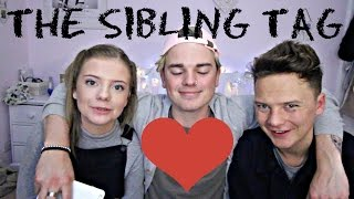 Download THE SIBLING TAG | ft. CONOR MAYNARD & MY SISTER Video