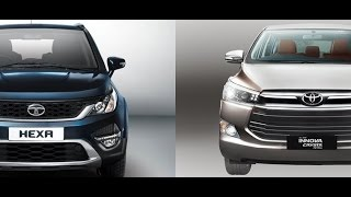 Download Tata Hexa vs Toyota Innova Crysta, India Review Video
