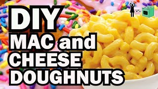 Download DIY Mac and Cheese Doughnut, Corinne VS Cooking #15 Video