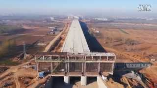 Download China Century Project South–North Water Transfer Project HD 2400KM Video